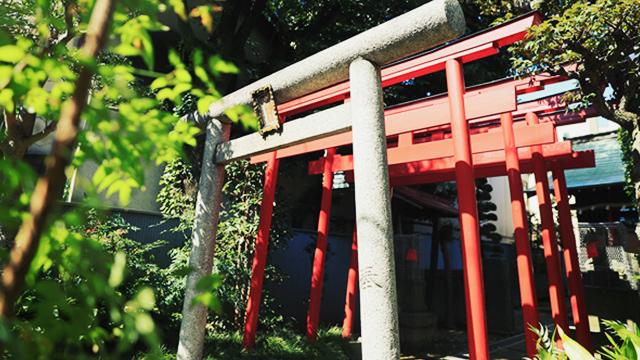 中守稲荷神社 約300m(徒歩4分)(2019年10月撮影)