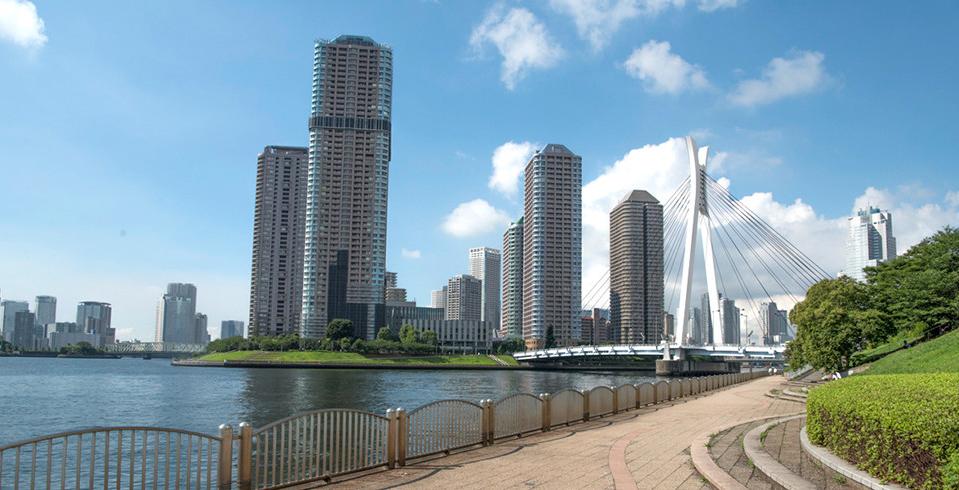 隅田川 約120m(徒歩2分)