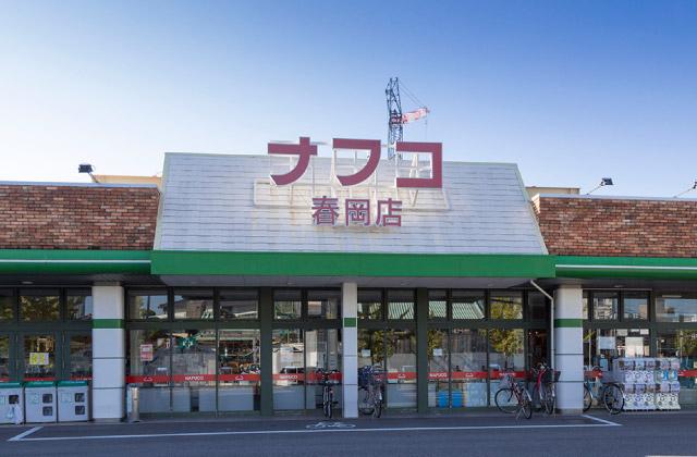 ナフコ春岡店 約80m(徒歩1分)