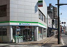 ファミリーマート広島堺町店 約370m(徒歩5分)