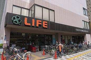 ライフ浅草店 約440m(徒歩6分)