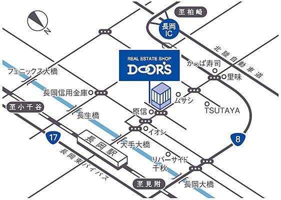 ドアーズ株式会社 賃貸営業課の周辺地図