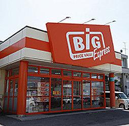 ザ・ビッグエクスプレス平岸店 約360m(徒歩5分)