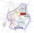 「スペード」の形をしている日本橋エリア。その中心である住宅街エリアにASDEUR 日本橋人形町は誕生します。