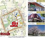 徒歩2分のスーパーをはじめ、生活利便施設が集積。