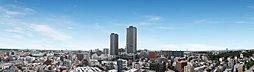 15階からの眺望写真(2017年11月撮影)