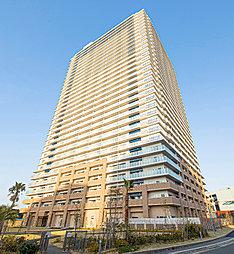 モントーレ香椎浜サーフタワーセンターコートの外観
