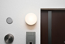 人感センサー付玄関灯