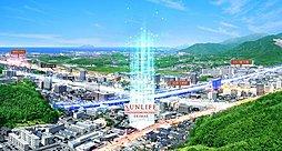 サンライフ新下関駅前(外観完成予想図)