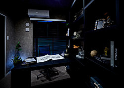 趣味や仕事など、贅沢な自分時間に浸る大人の自由空間。
