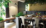 ※掲載の室内写真は建物内モデルルーム(2017年8月~ご成約まで使用予定)Bbタイプ<リビング・ダイニング>を撮影(2017年8月)したものです。家具・調度品・植物等は販売価格に含まれません。