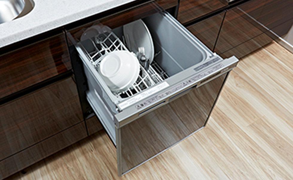 食器洗い乾燥機(衛生的で節水効果が期待でき、家事効率も向上。)