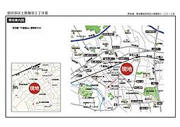 モデューラ上祖師谷1丁目III:案内図
