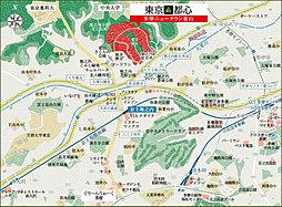 【ダイワハウス】東京森都心 多摩ニュータウン東山 【サードステージ】第2期(建築条件付宅地分譲):案内図