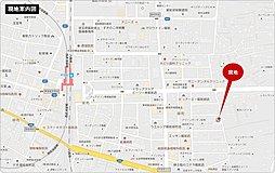 ライフイズム 飯能・緑町 【 建築条件付売地:2区画 】:案内図
