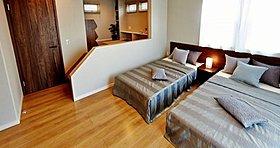 主寝室から入れるスーパーロフトなど大容量のゆとり空間。