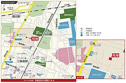 【グランディハウス】グランエクセラ大塚町【陽南小学校 徒歩5分】:交通図