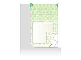 区画図 整形地57坪
