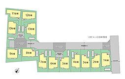 新築分譲住宅 久米川町3丁目 全13棟