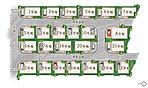 全24区画。広々とした街区設計でゆったりと暮らす「シャルール八尾緑ヶ丘」