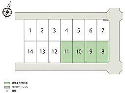 <横尾材木店>【建築条件売地】行田市チッタリザータ長野第2期