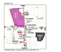 ハッピーストーリータウン北花田:案内図