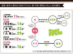 プレミアムコンフォート堺鳳中町:交通図