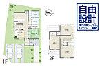 建物プラン例(1号地)建物価格1542.24万円、建物面積93.17m2 ※シンフォニープラン※上記プランは一例です。プランはお客様が自由に決定できます。※外構・付帯工事費別