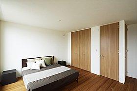 主寝室(施工例写真)
