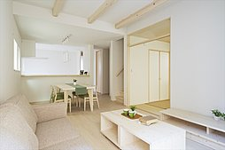 LDと一体利用可能な和室を設置した4LDKプラン(施工例写真)