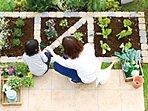 「食・育」が循環する庭