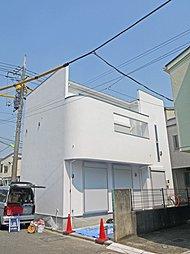 瀬田のデザイナーズハウス 公道角地