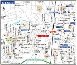 【子育て応援プロジェクト・安心のALC】パークヒルズ久喜:案内図