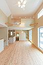 健康住宅「きれいな空気の家」。耐震・制振システム導入で震度7クラスの地震による建物の揺れを最大50%抑えます。