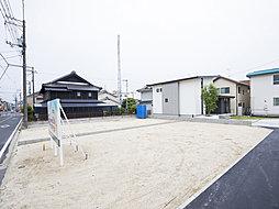 万能倉駅徒歩2分の立地。オーダーメイドの創建ホームの土地分譲