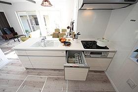当社施工例 キッチンは食洗機が標準完備です!