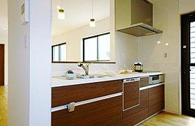 食器洗い乾燥機や人工大理石の天板やIH等、使い勝手が良い
