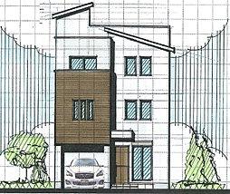 板橋区稲荷台 条件付き売地 間取り変更可能
