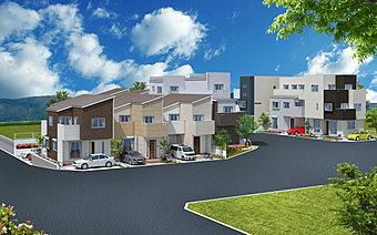 アネシス池田イーストタウン全10区画/街並完成予想図