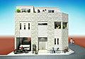 ―拓斗建設― 羽沢の売地【4駅4路線が利用可の角地】回廊型の広いルーフバルコニー付きの家が建築可能