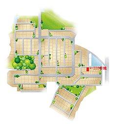 高取グリーンタウン【建築条件なし宅地】分譲 ラスト1区画:案内図