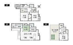 (B棟)、価格5710万円、4LDK、土地面積102.85m2、建物面積122.25m2