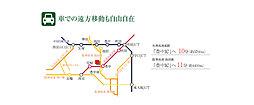 【KANJU】スマイルタウン阪急園田 ~利便性と潤いに包まれた全32区画~:案内図