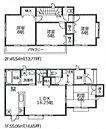 【1-K】2wayに使える和室。LDKはゆとりの16.25帖。人気の対面式キッチン。水廻りを集約させた機能的な家事動線。全居室南向き & 6帖以上。収納充実。2部屋より出入り可能、ワイドバルコニー。