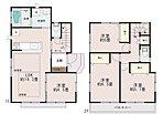 人気の対面式キッチン。水廻りを集約させた機能的な家事動線。収納充実。2部屋より出入り可能、ワイドバルコニー。【ご見学の際は、飯田ホームトレードセンター(株)までTEL:0120-42-1588】
