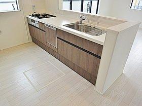 【キッチン】 忙しいママを助ける食洗機標準装備!