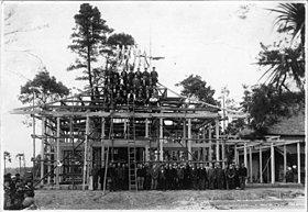 創業時から蓮田・白岡・大宮周辺で神社や仏閣を建築。