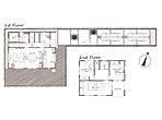 9号棟間取り図 洗面室からキッチンまで家事同線が便利です。