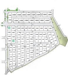 龍ケ崎松ケ丘【トヨタウッドユーホーム】トヨタの木の家~品質に自信あり2×4分譲住宅~:案内図