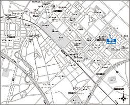 アルネットガーデン鶴ヶ島若葉:案内図